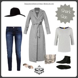 Outfit-Trend langer Mantel und Schlapphut
