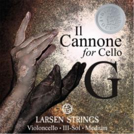 Струны для виолончели  IL CANNONE LARSEN -  струна До Соль (G) купить