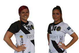 Annika Dembach Janina Boieck Trainerinnen Minis HSG VfR/Eintracht Wiesbaden