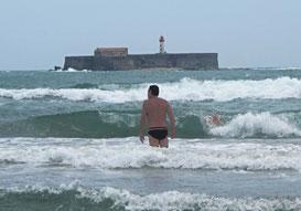 21. Juli 2014 - Der Mann und das Meer