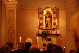 05. Juli 2014 - Maria zu lieben... - Die Komplet, das Nachtgebet im Kloster