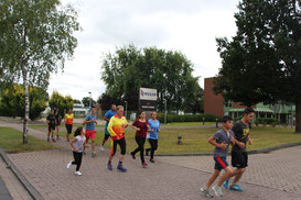 Laufenheit beim Camp 35