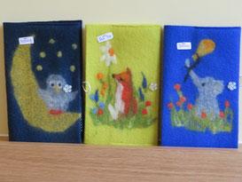 von li.: Hedwig, Red Fox, Dumbo
