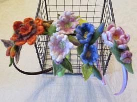 von li.: Orange Flower, Daisy, Frühling, Jane Austen