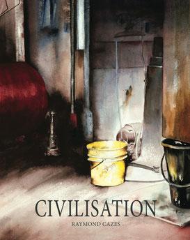 Un livre des dernières aquarelles sur le objets les lieux et les personnes oubliés. Avec des textes de Manon Cazes et Baptiste cazes