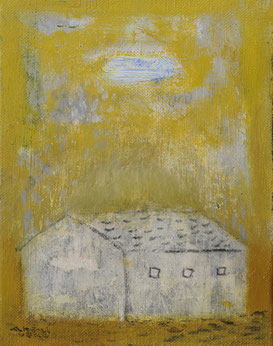 Little house  18×14cm Oil on canvas  Private collection