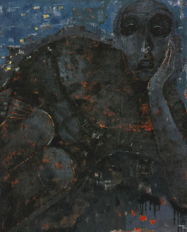 Inner person 194×162cm  Oil on canvas  2007