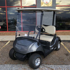 Carbon Metallic Yamaha Golf Cart