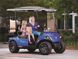 New Yamaha Golf Cars, Yamaha Golf Cart, Yamaha PTV, New Gas Cart, New Electric Cart, EFI, Fuel Injected