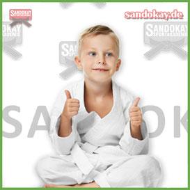 Kurse zur Selbstverteidigung für Kinder in Itzehoe - wie Karate - Kampfsport mit Sandokay