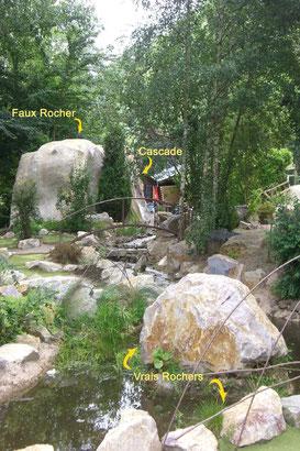 Création d'un Faux Rocher et d'une Rivière - Mini Golf - CLECY