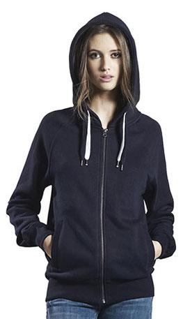 Sweatshirt Hoody mit Zipper für Damen oder Herren bedrucken lassen bei georgefrank - die T-Shirtdruckerei
