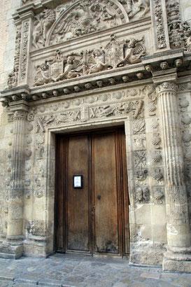 The entrance of Casa de Castril