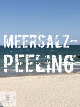 Meersalz-Peeling, Ostsee, Peeling, Meersalz, maritime Geschenke, Benitaljo, Bremervörde