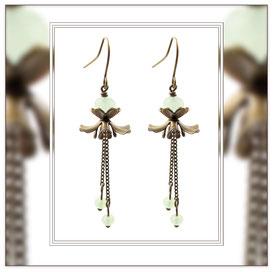 Mila ° The Gentle Danseuse ° Blütenförmige Ohrringe Elfgard®