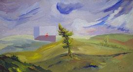 boom in landschap 1979
