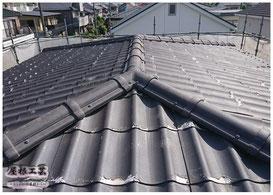 スレート葺き替え 加須市 屋根工事 ©2018屋根工芸 ㈱大塚興業社