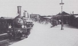 Zug der SCB bei der Einstieghalle Ost in Basel.