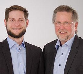 Axel Schoppe und Manfred W. Schoppe, Geschäftsführende Gesellschafter, mehrWEB.net UG (haftungsbeschränkt) – Agentur für Web-Marketing [dgp]