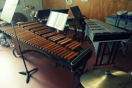 Ecole de musique EMC à Crolles - Grésivaudan : instruments de percussions