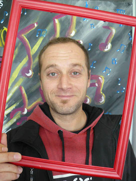 Ecole de musique EMC à Crolles - Grésivaudan : Renaud D'ham, professeur de percussions.