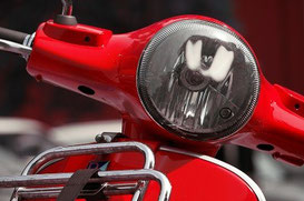 Mofaschild, Roller- oder Mopedkennzeichen