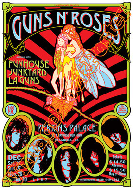 199 - GUNS N' ROSES poster original file image