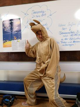 Unser Känguru alias Frau Richter!