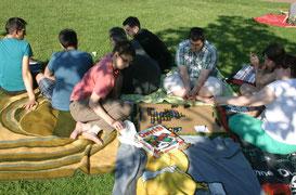 Spielen im Bürgerpark
