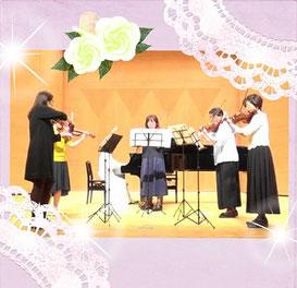 バイオリン・ビオラ教室大人のアンサンブル画像