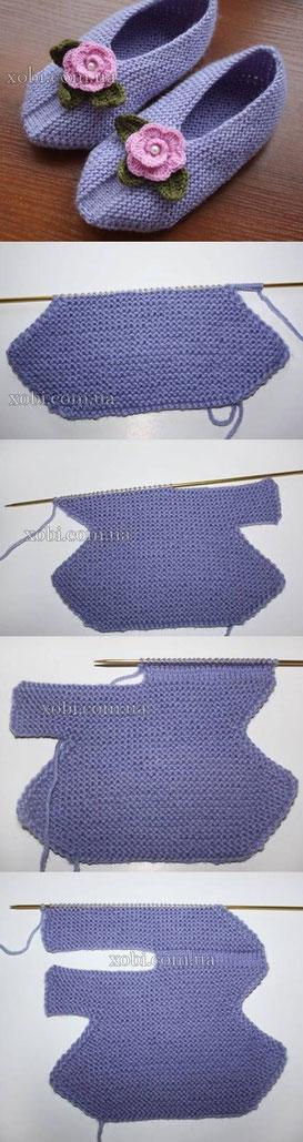 вязаные носки вязаные тапочки как вязать носок уроки вязания вязать ворот вырез полувера набор петель вязание ворот вязать свитр вязание проймы убавлять петли проймы