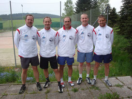 v.l.: Fischer Thomas, Zach Markus, Alfons Rainer, Roth Franz, Riedl Markus
