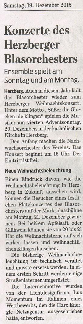 Harzkurier, 19.12.2015