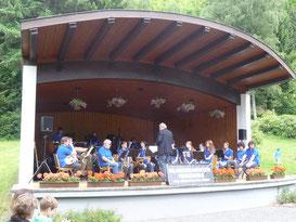 Sommerkonzert im Kurpark Lonau am 17.06.2012
