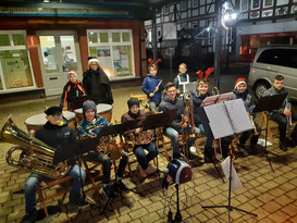 Kinderorchester am Weihnachtstreff 16.12.2019