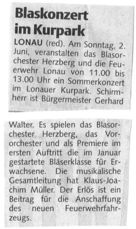 Harzer Wochenspiegel, 29.05.2013