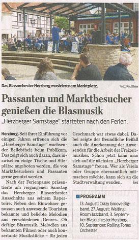 Harzkurier, 08.08.2016