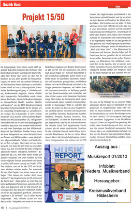 Musikreport 01/2013