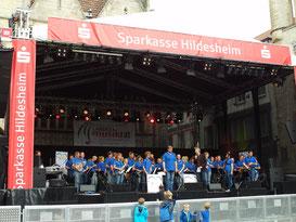 Auftritt zum Tag der Niedersachsen, Hildesheim 27.06.2015