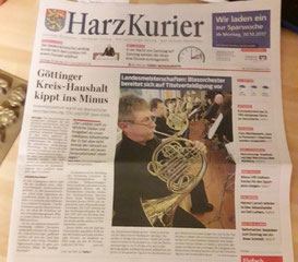 Harzkurier, 28.10.2017