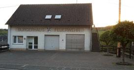Gerätehaus seit 1989