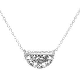 925 sterling zilver mandala necklace