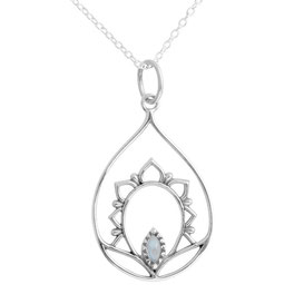 925 sterling zilver lily of light necklace