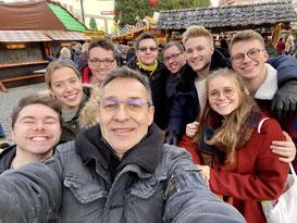 """Außendreh Kurs """"Modi V"""" am 22.11.2019 - Weihnachtsmarkt Dortmund"""