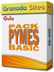 Pack Pymes Basic, web alojada en Granada Sites
