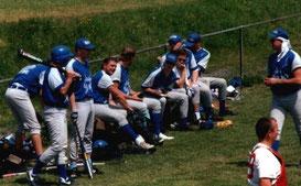 team bench 1995