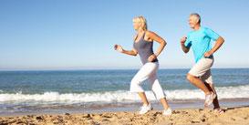 Pour une vie équilibrée, une hygiène de vie saine associée à une activité sportive font bon ménage.