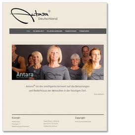 Internetseite Antara Deutschland