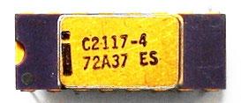 Intel C2117-4 ES Front View