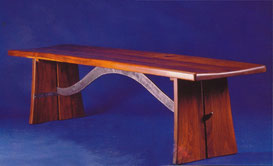 Ironwood bench
